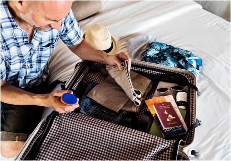 Como organizar bagagem
