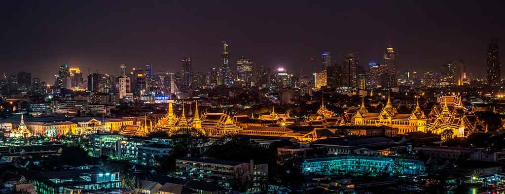 Viagem de férias bangkok