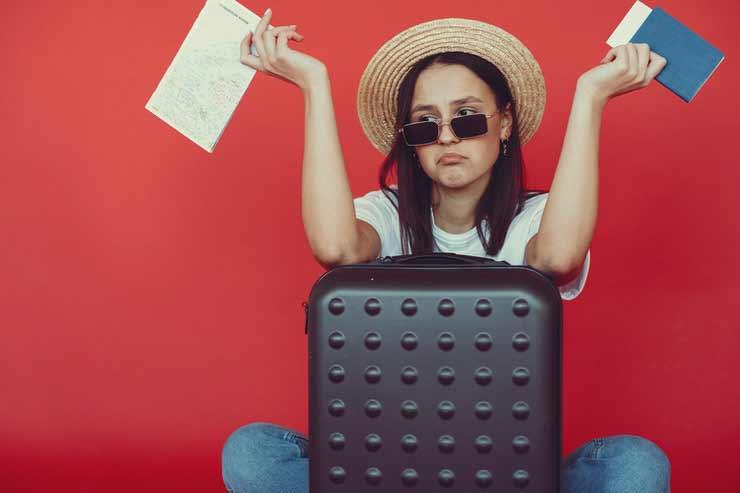 Mala de Viagem erros pra evitar esquecer documentos importantes