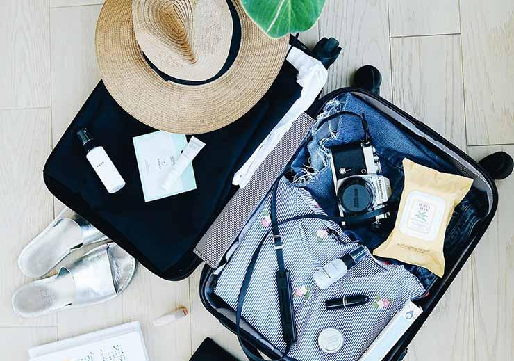 Planejamento de viagem: faça uma mala adequada