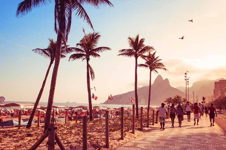 Planejamento de viagem para o Rio de Janeiro