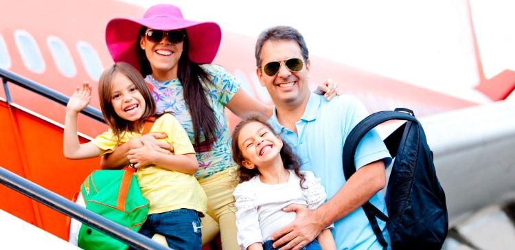 Viagem em família - Seguros Promo