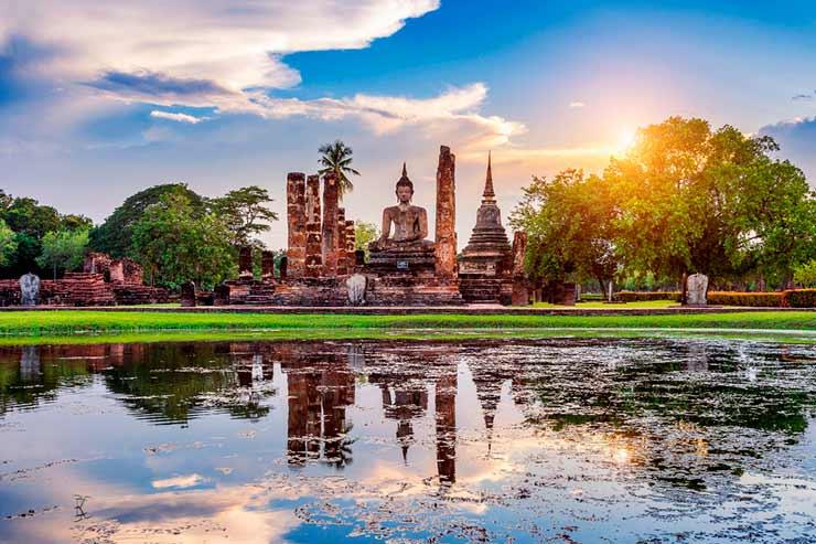 destinos exóticos para viajar: Tailândia