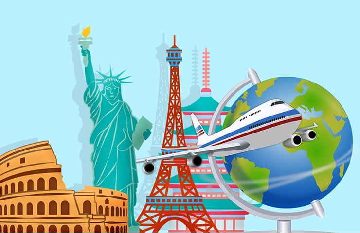 cuidados em viagens internacionais