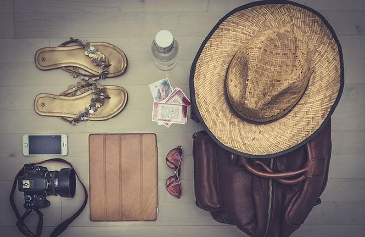 Dicas para viagens internacionais: itens essenciais para levar