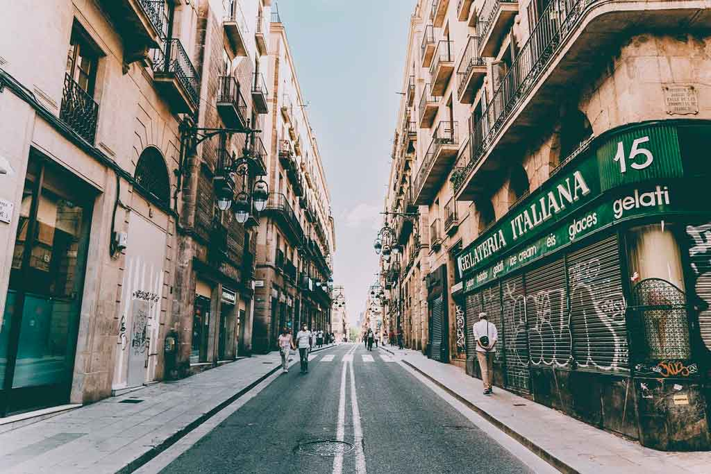 Turismo em Barcelona Bairro Gótico