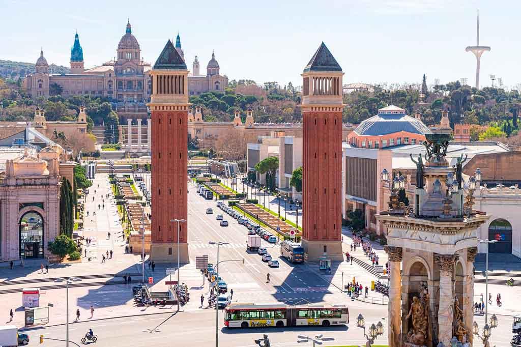 Turismo em Barcelona como chegar