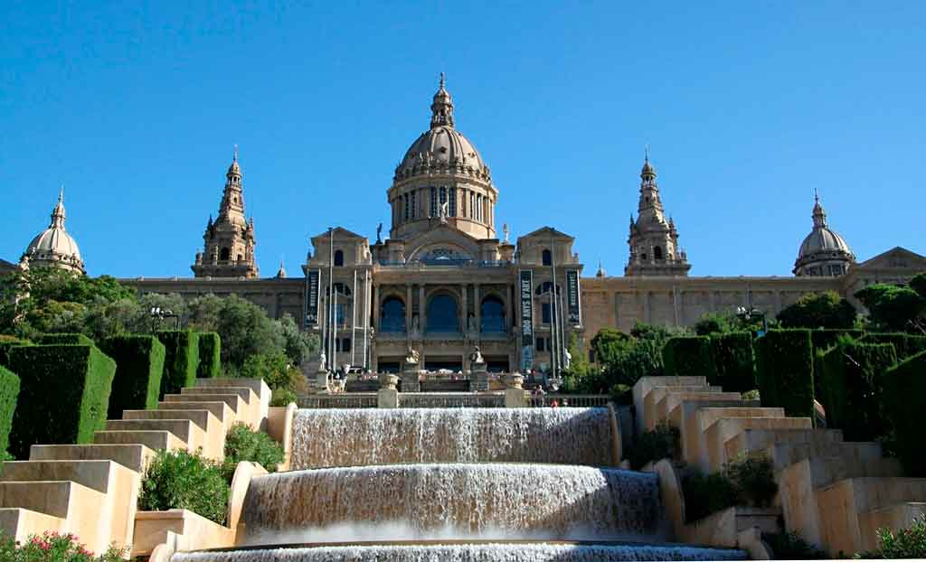 Turismo em Barcelona montjuic