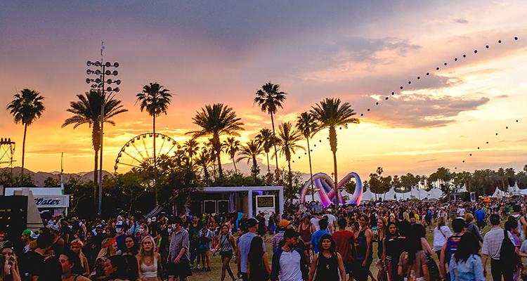 Coachella Fest – Califórnia, EUA festivais de música