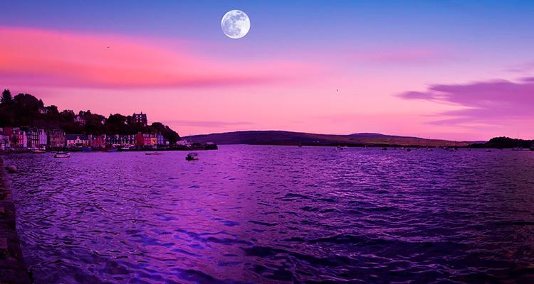 Escócia Aurora Boreal