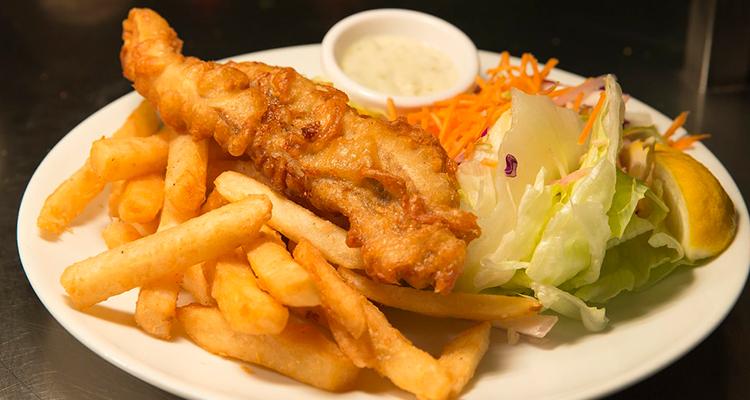 visitar a Austrália e Peixe com fritas