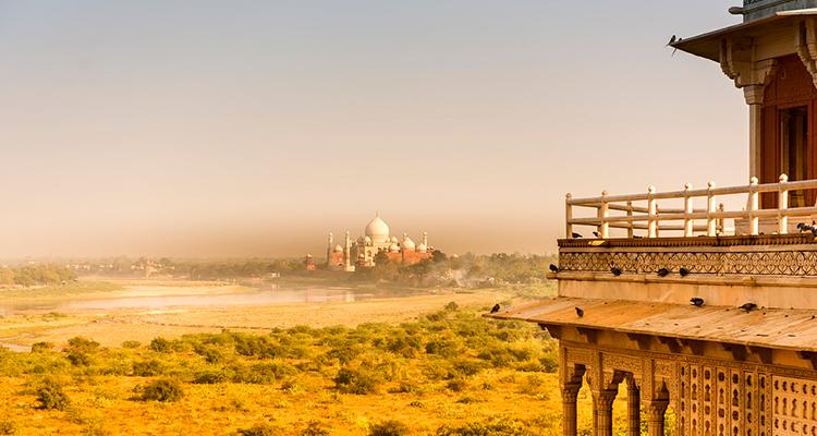 Taj Mahal Onde ficar