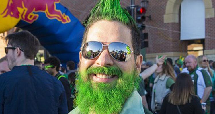St. Patrick's Day, tudo na Irlanda fica verde