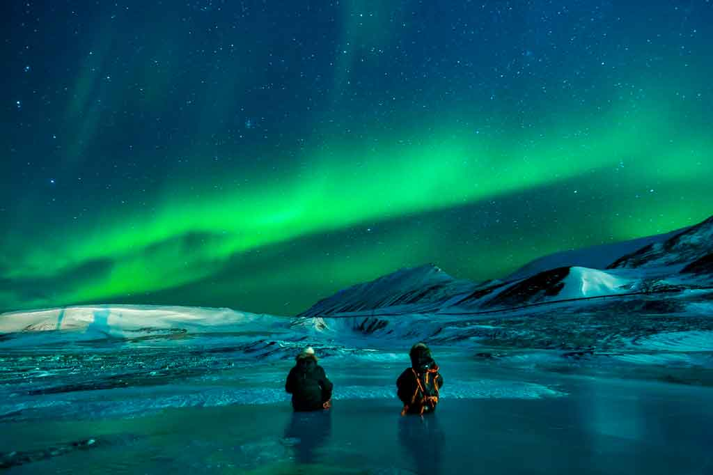 Aurora Boreal quais paises