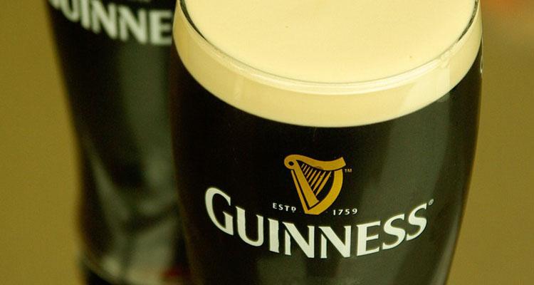O consumo mundial de Guinness