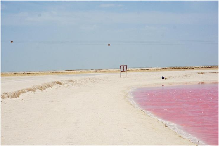 praias do México Las Coloradas