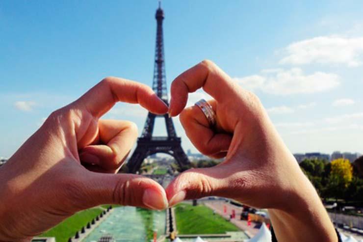 Entender porque Paris é considerada a Cidade do Amor