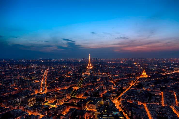 Onde fica Paris?