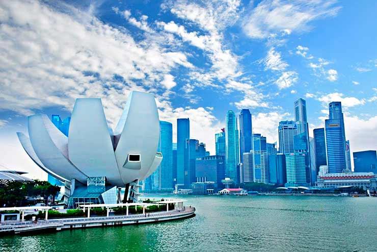 Como chegar a Cingapura?