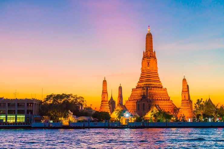 Explore os países vizinhos Tailândia