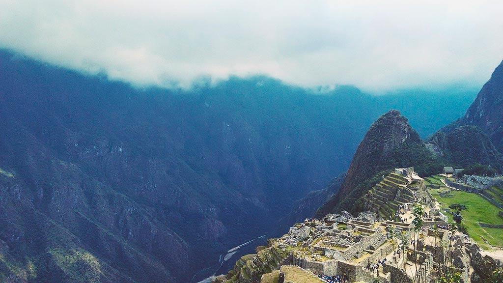 Viajar para Machu Picchu