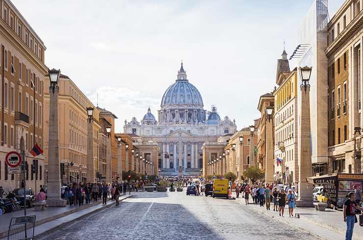 Quanto custa uma viagem para Roma?