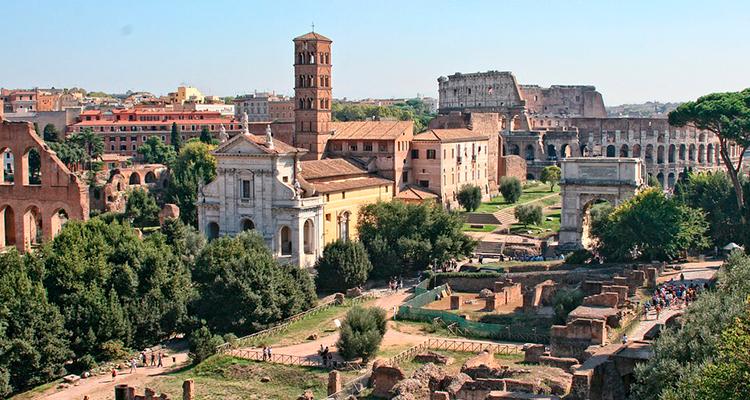 surpresa a cada esquina de Roma