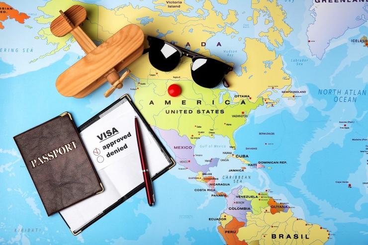 Tipos de vistos americano