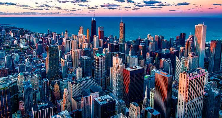 Melhores cidades para estudar inglês: Chicago