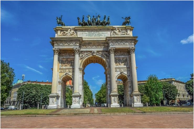 Cidades da Itália Milão