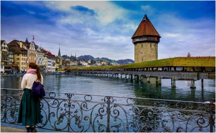 Turismo na Suíça Lucerna