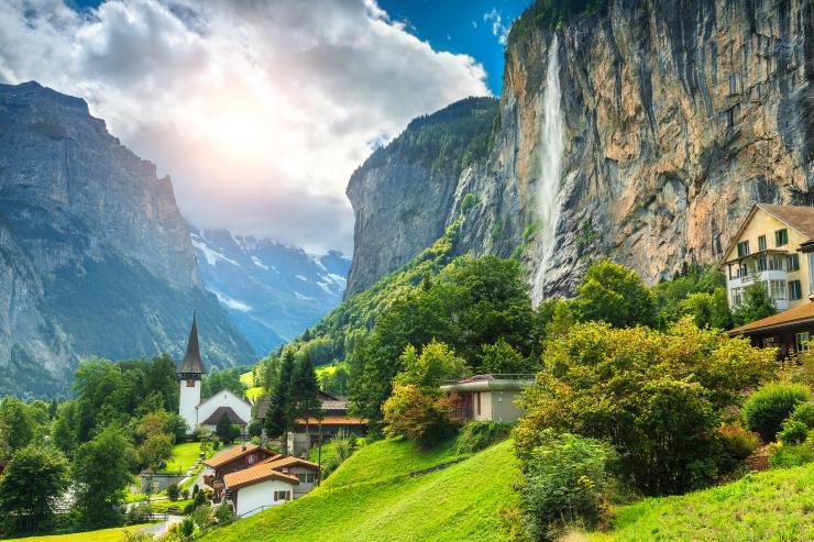 Turismo na Suíça viagem