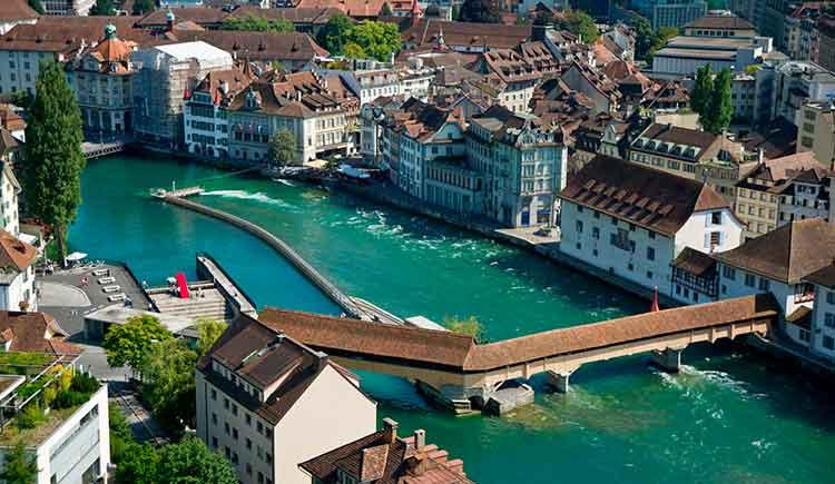 Destinos românticos ne Europa Lucerna - Suíça