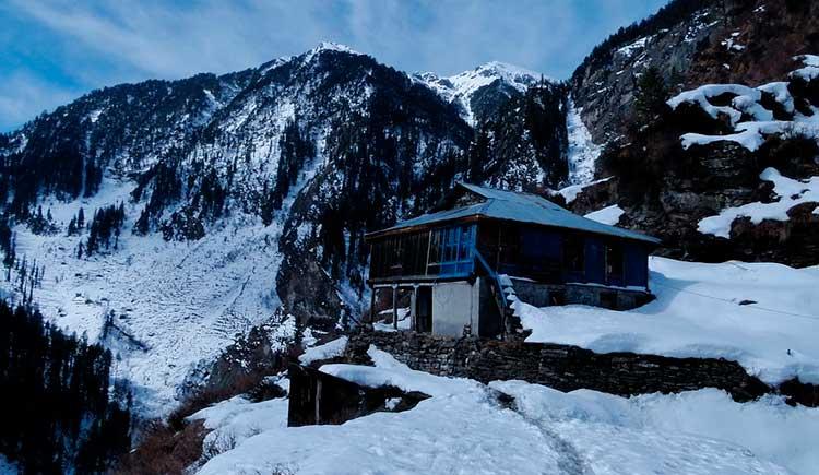 Manãli, província de Himachal Pradesh, Índia