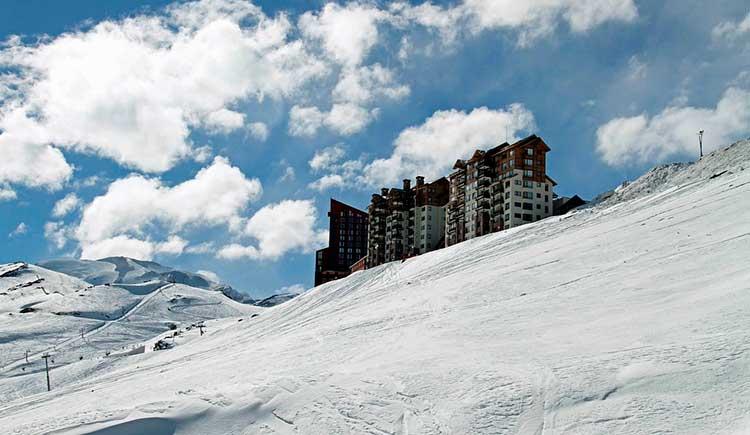melhores pistas de esqui Valle Nevado, Chile