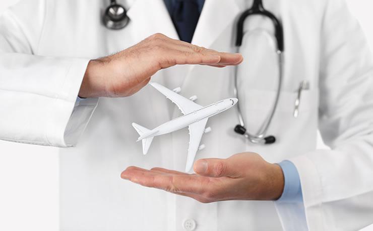 Traslado médico seguro viagem