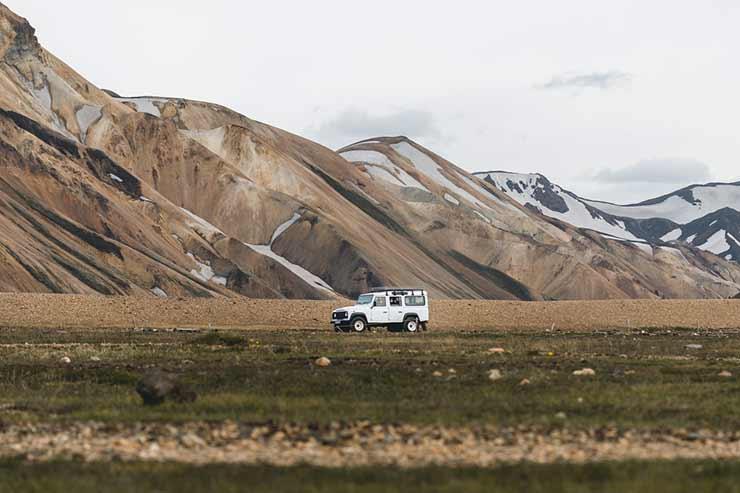 Islândia seguro para ecoturismo