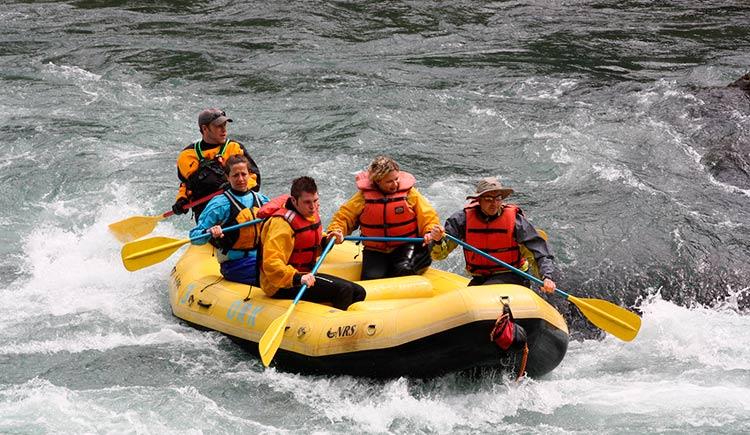 Destinos para praticar rafting no Paraná