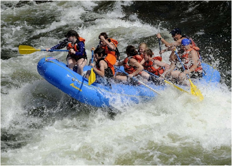 rafting no brasil