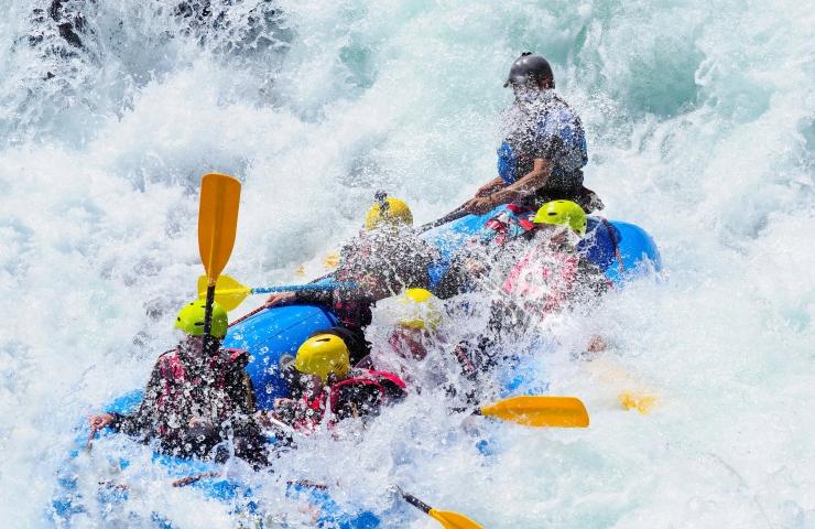 Onde praticar rafting mg