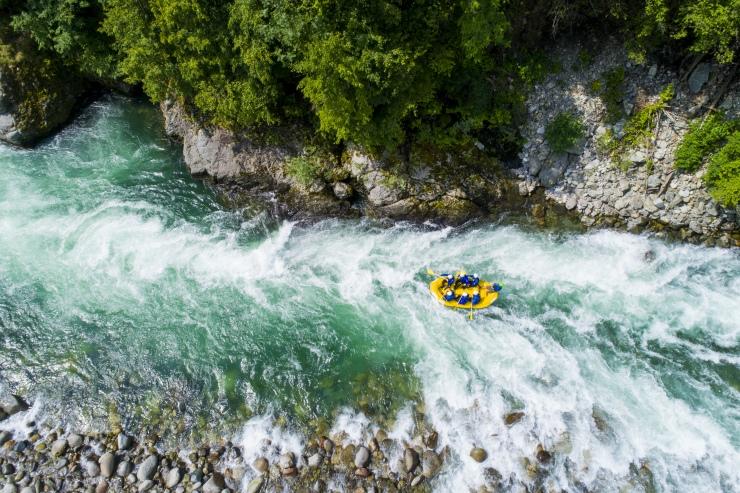 Riscos e perigos na prática do rafting