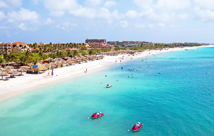 Aruba caribe praia