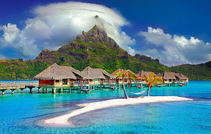 praias do caribe crianças