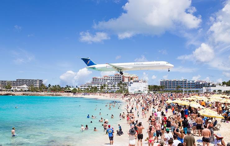 IIlha de São Martinho praia caribe