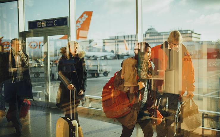 Viagem Europa bagagem