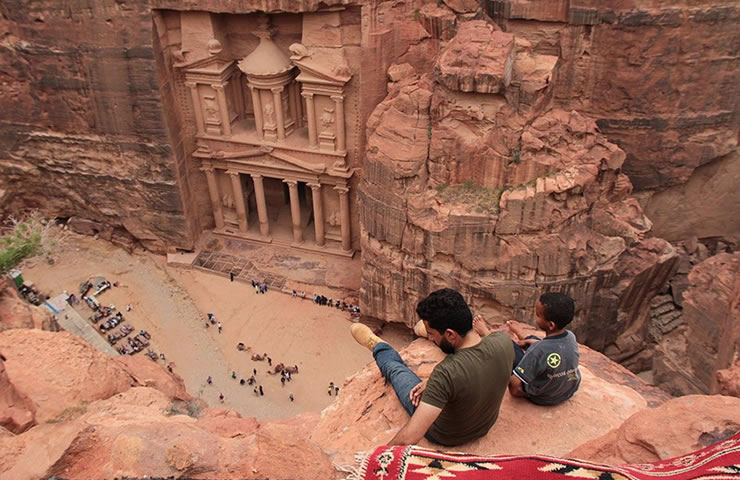 turismo oriente medio Petra Jordânia