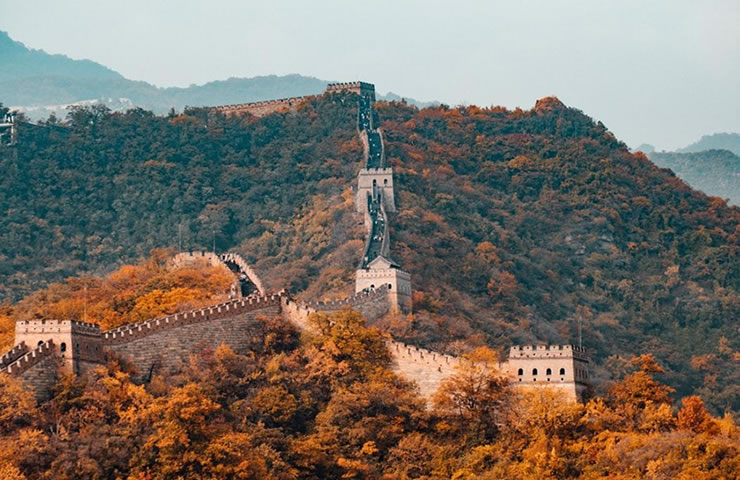 Viagem à Ásia China