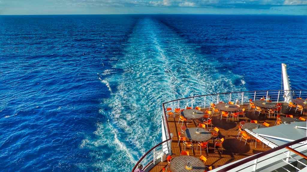 Viagem de Cruzeiro gastos a bordo