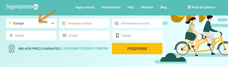 como contratar seguro para portugal