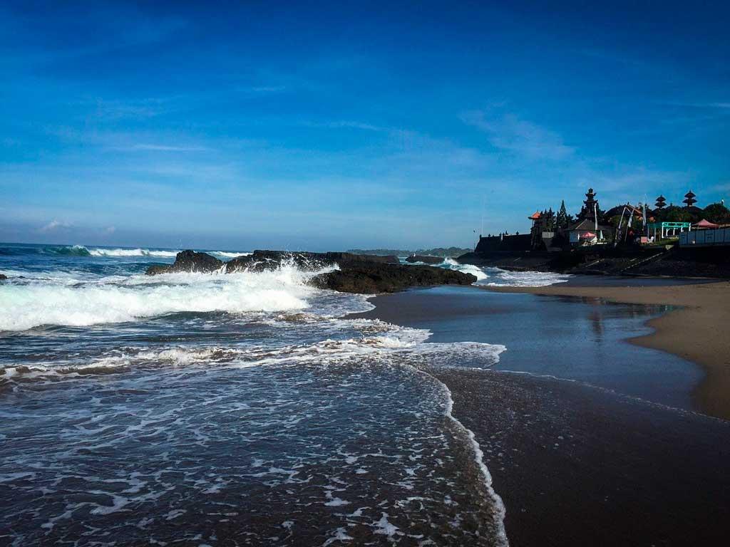 Foto da praia em Canggu